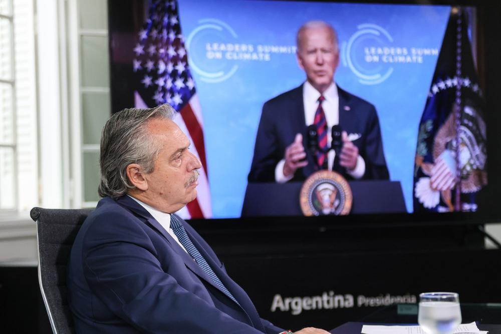 """Alberto Fernández pidió """"canje de Deuda por acción climática"""" en Cumbre del Cambio Climático"""
