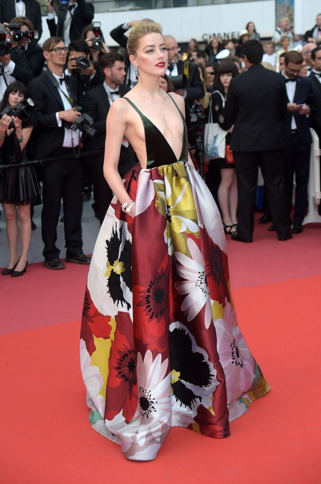 """Американская актриса Э́мбер Хёрд - премьера фильма Sorry Angel"""" на 71-м Канском кинофестивале."""