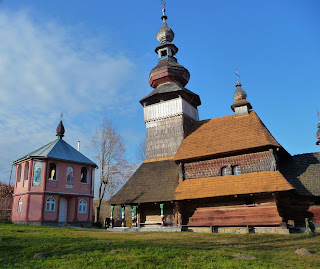 Свалява, Бистрий. Закарпатська обл. Свято-Михайлівська церква. 1588 р.