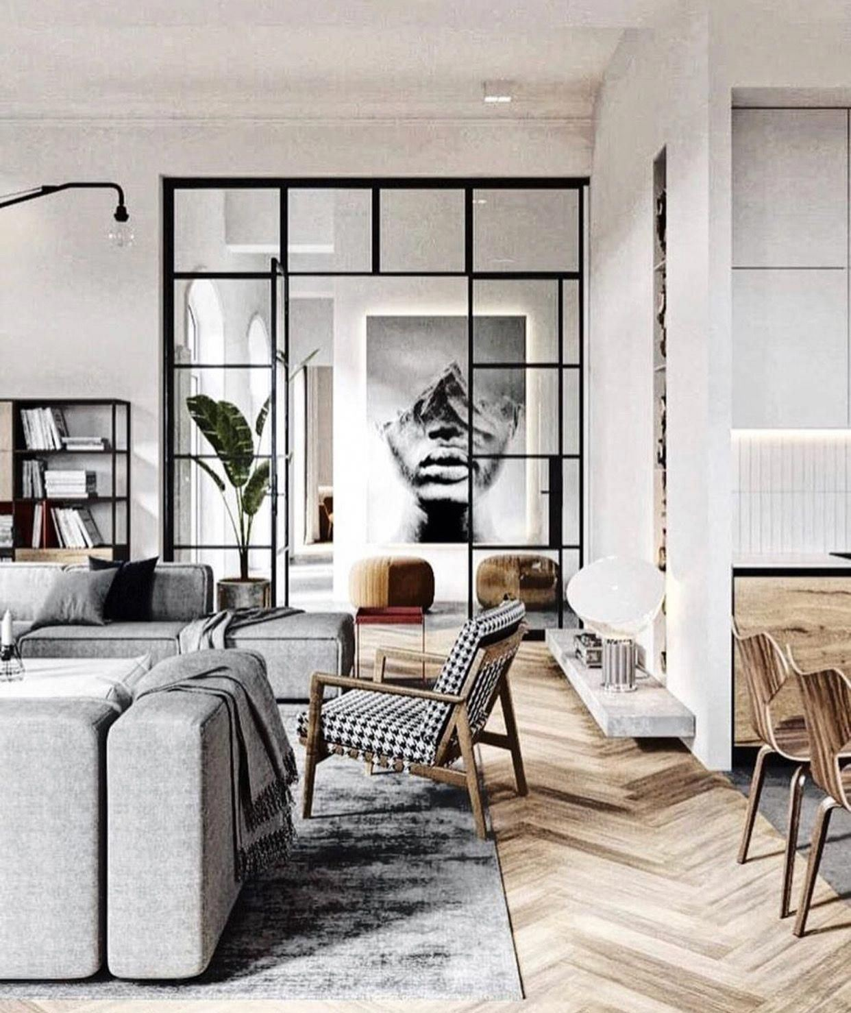 Cozy Industrial Living Room Design Idea That Will Amaze Your Guests