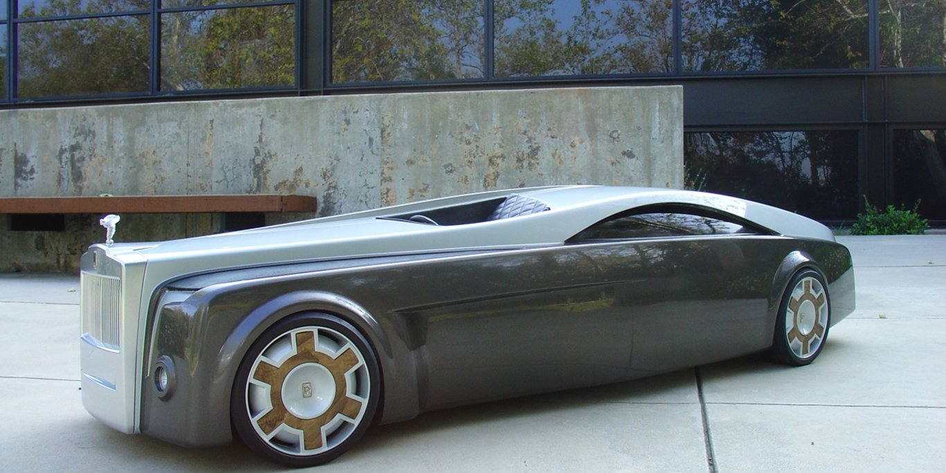 "Checkout The Monster Automotive Idea Referred to as ""Rolls-Royce Apparition Idea"" – Pictures"