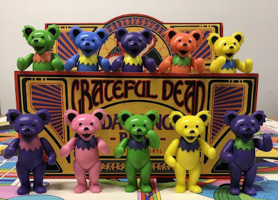 Grateful Dead Dancing Bears Vinyl Figure Box Set by Bottleneck Gallery