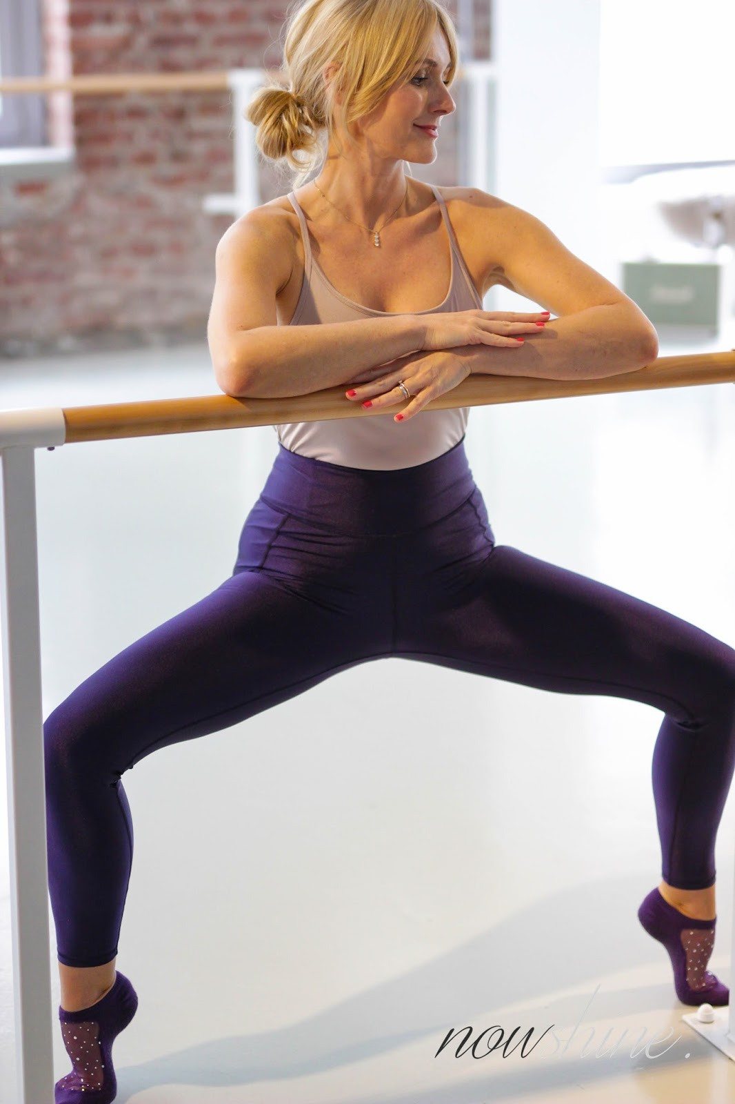 Nowshine und Krombacher Alkoholfrei - Barre Workout - Youpila Düsseldorf - Ballett Workout