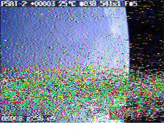 Robot 36 SSTV PSAT-2