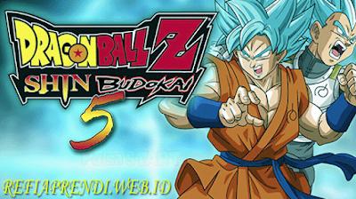 Dragon Ball Z Shin Budokai 5 (MOD) PPSSPP Terbaru 2018