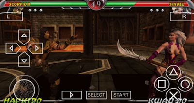 Download Mortal kombat Unchained PPSSPP
