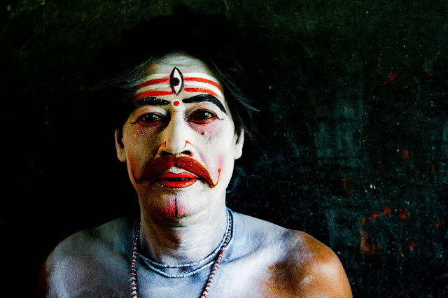 Charak Face Painting