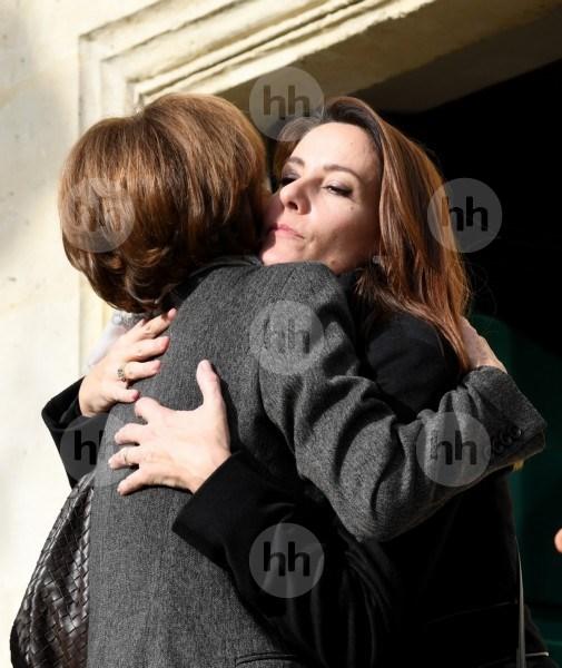 Imperor.net: Новости: аристократия, монархия, luxury, история Принцесса Мари с семьей посетила похороны своей бабушки