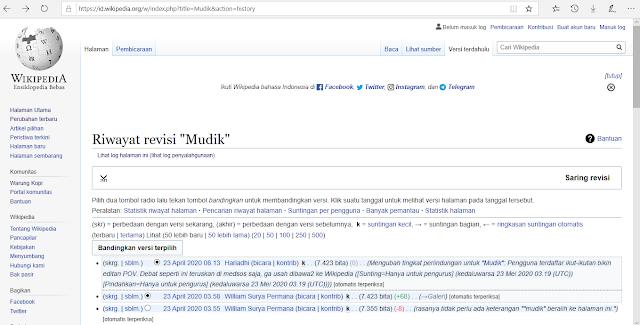 Mudik sama dengan Pulang Kampung Wikipedia