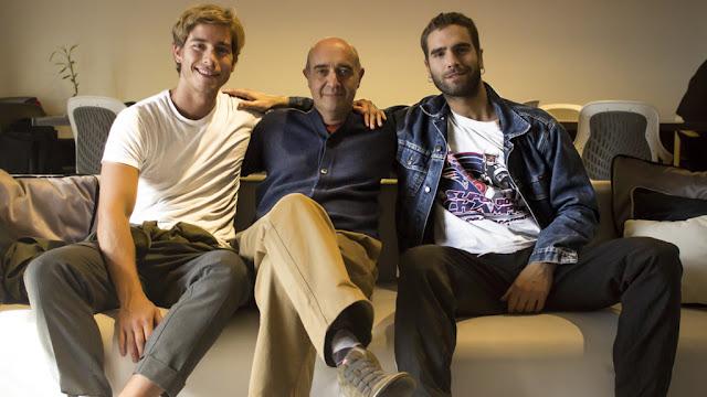 Victorio D´Alessandro y Nicolás Furtado juntos en una nueva miniserie