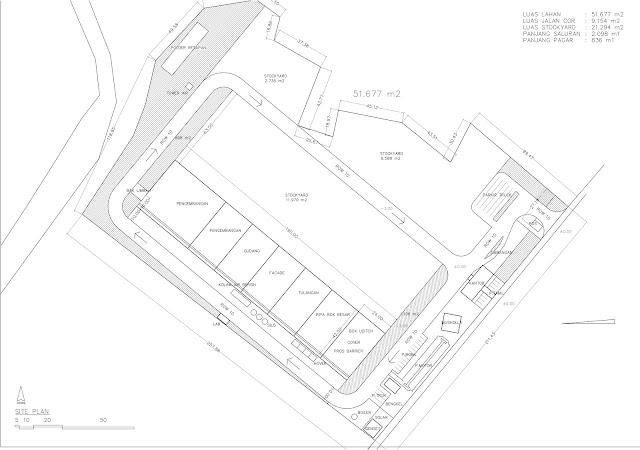 Site Plan Konstruksi