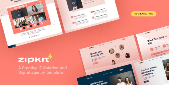 Best Digital Agencies Template