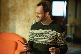 Jonny Lee Miller as Sherlock Holmes in CBS Elementary Episode # 19 Snow Angels