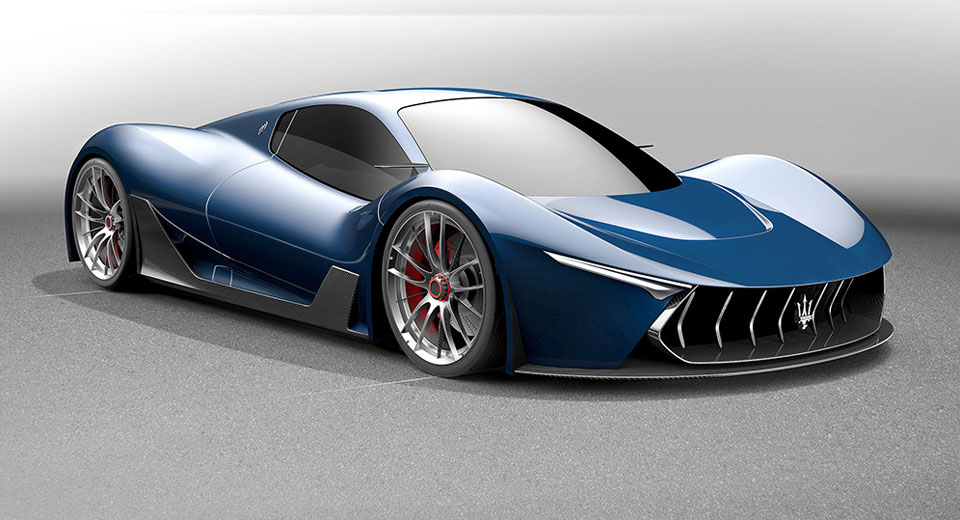 Laferrari Based Maserati Hypercar Study Looks The Part