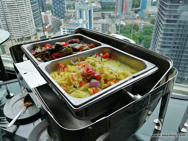 Buffet Lunch for RM25 @ 25th Floor Red By Sirocco