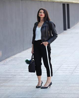 outfits para el trabajo negro