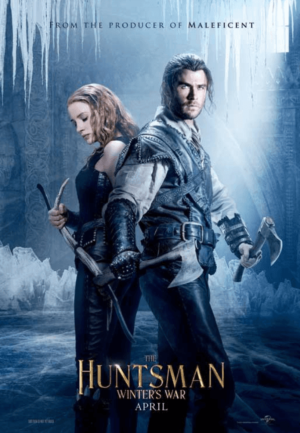 The Huntsman: Winter's War 2016 BRRip 720p Dual Audio In Hindi English