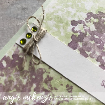 3rd Thursdays Blog Hop - June 2019 | Beautiful Friendship, Here's A Card NEW stamp sets from Stampin' Up!® | Nature's INKspirations by Angie McKenzie