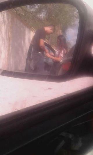 Tamaulipas;  #Ladymameluco Captan en imagenes a Chamaca del Cbtis en acto inmoral con malandro
