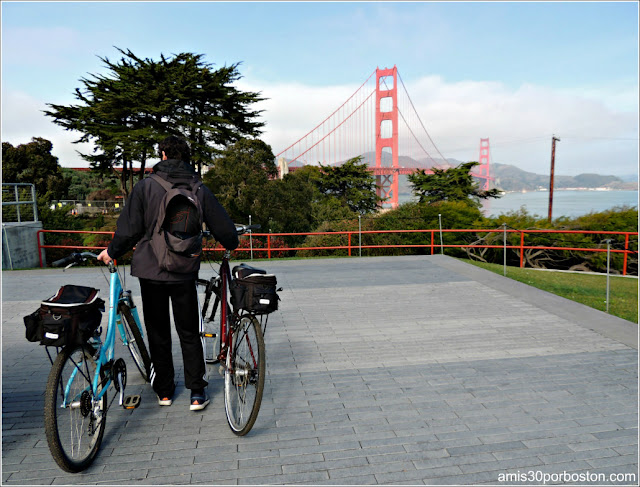 Ruta en Bici: San Francisco-Golden Gate Bridge-Sausalito