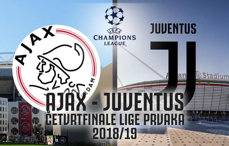 Poznati parovi četvrtfinala Lige prvaka! Juventus ide na Ajax!