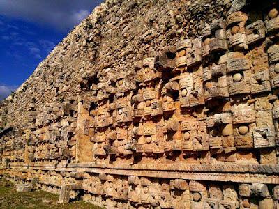 Codz Pop Kabah Ruinas Mayas Yucatan Mexico