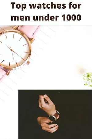 9 Best Wrist Watch for Men under 1000-1000 के तहत पुरुषों के लिए 9 सर्वश्रेष्ठ कलाई घड़ी