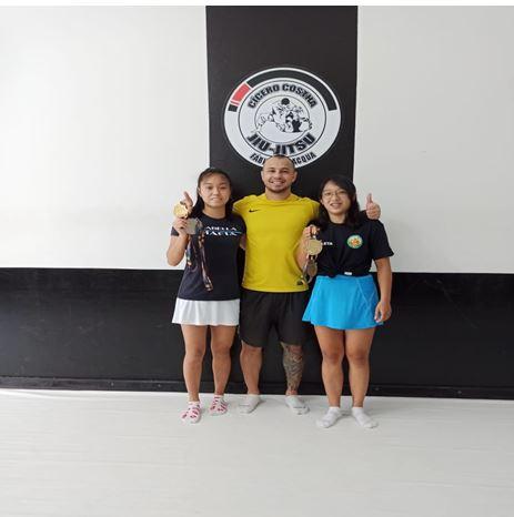 Kaori e Mayumi trazem medalhas da Final Estadual para Registro-SP