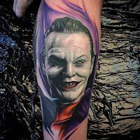 Tatuajes de The Joker - Jack Nicholson