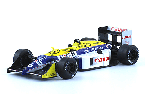 Williams FW11B 1987 Nelson Piquet f1 the car collection