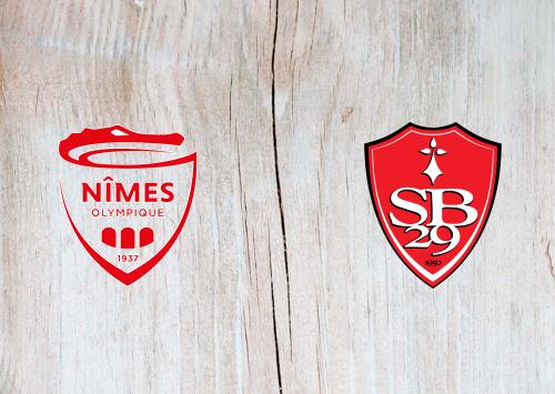 Nîmes vs Brest -Highlights 23 August 2020