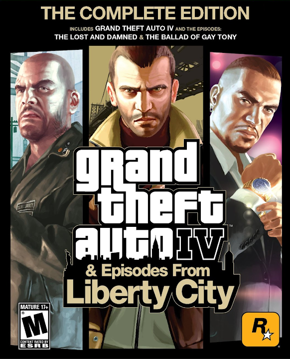 Grand Theft Auto IV: Complete Edition (Region Free) PC