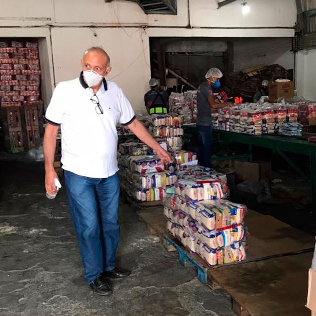 Cinco mil cestas básicas serão distribuídas as famílias das Apaes; Em  Crato,180 famílias receberão o benefício