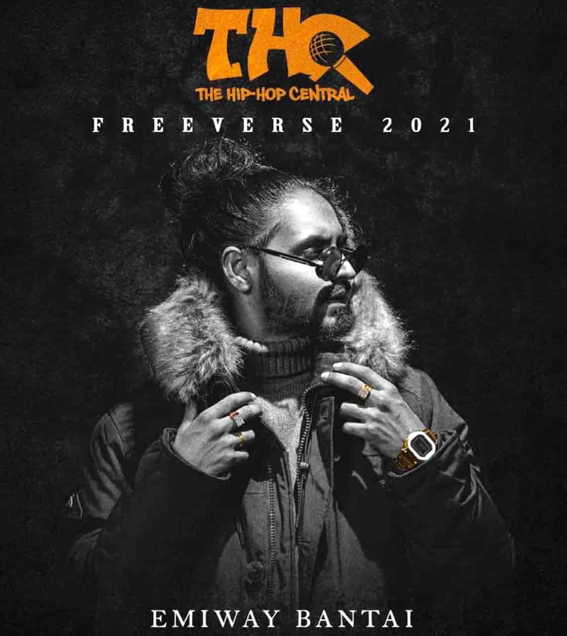 Thc Cypher (Freeverse 2021) Rap Song Lyrics Emiway Bantai