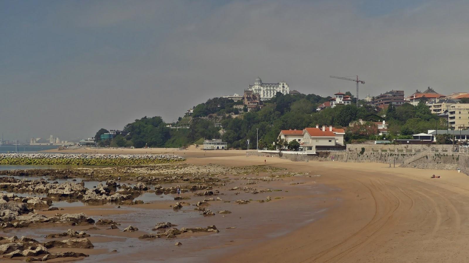 Playa de la Magdalena plaże w Santander