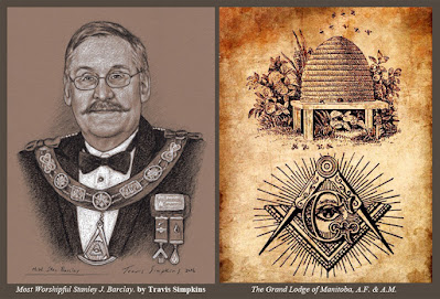 M.W. Stanley Barclay. Past Grand Master. Grand Lodge of Manitoba. by Travis Simpkins