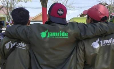JamRide Dirilis Sebagai Aplikasi Ojek Online Terbaru Yang Mulai Hadir Di Ibu Kota Baru