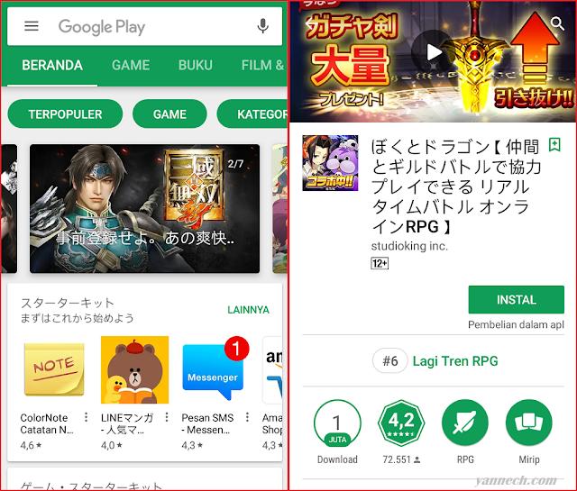 Cara Mengganti Google Play Store Ke Negara Lain