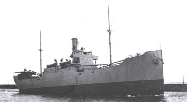 US Supply ship Florence D, sunk at Darwin on 19 February 1942 worldwartwo.filminspector.com