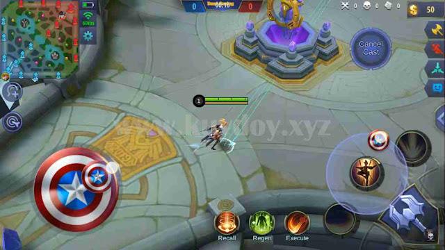 Script Analog Controller Mobile Legends Unity Engine Terbaru