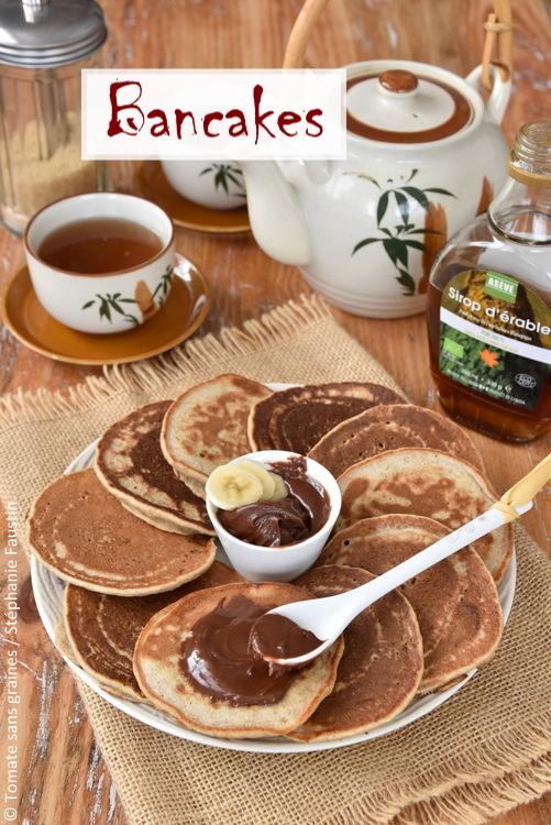 Bancakes, banana pancakes