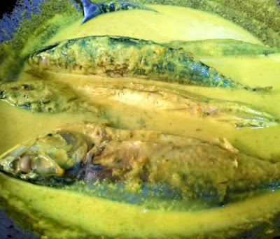 Gambar dan resepi Ikan Kembung Masak Lemak Cili Api
