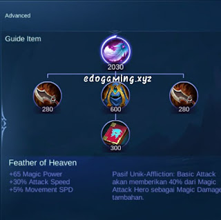 penjelasan lengkap item mobile legends item feather of heaven