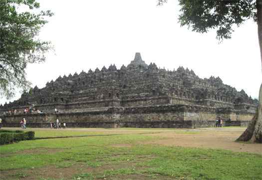 Borobudur Temple Or Candi Borobudur Indonesia Beautiful Place In