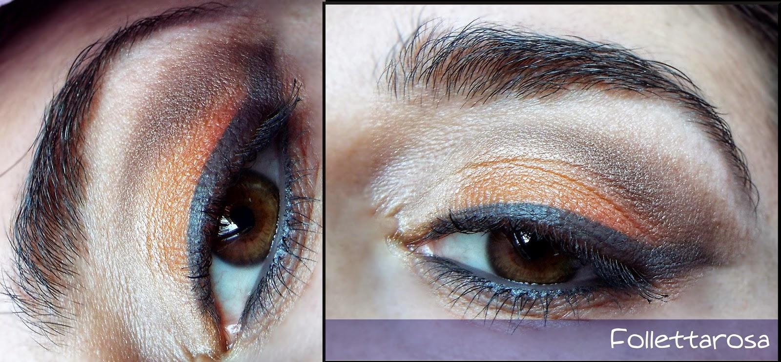 make up arancione primavera 2015