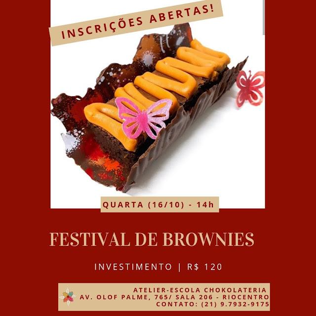 Festival de Brownies Chokolateria - Outubro 2019