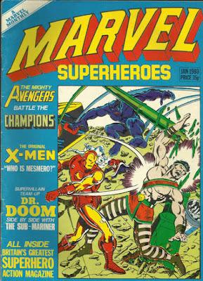 Marvel Superheroes #357, Avengers vs Champions