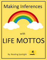 Students in grades 4-8 can learn to make inferences by matching these altruisms to their meanings.
