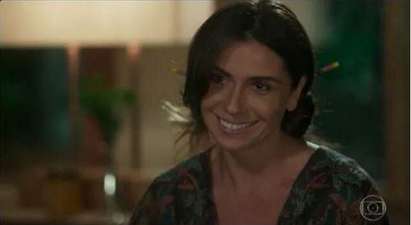 Alice (Giovanna Antonelli) Sol Nascente, coque cena da novela