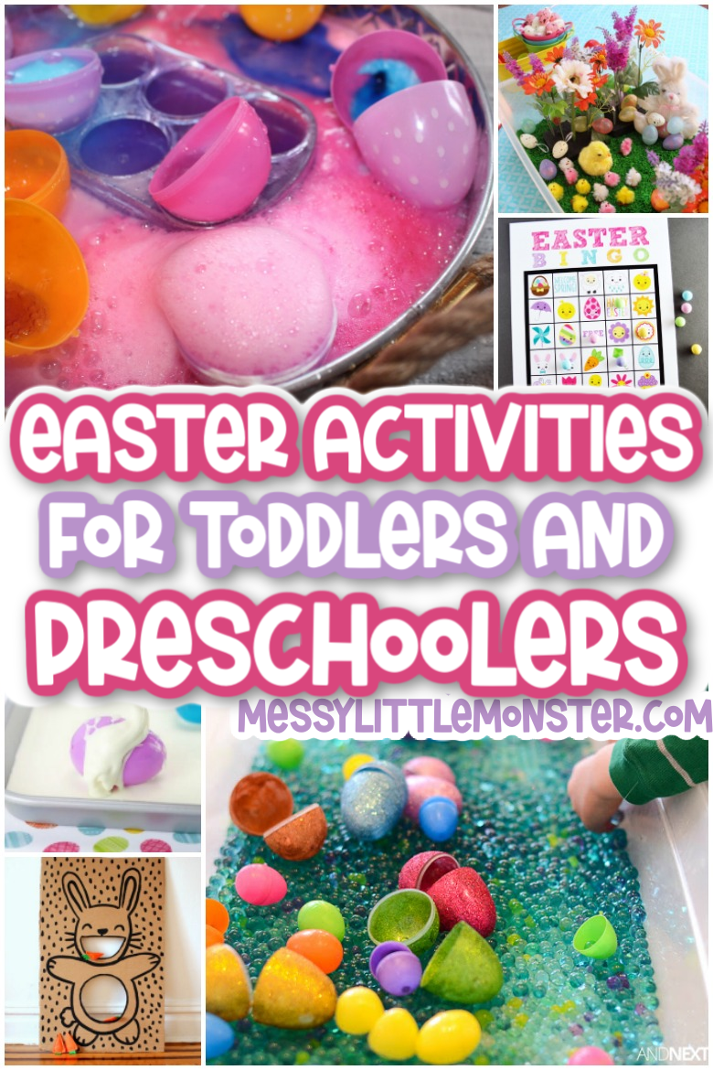 Fun Easter activities for toddlers and preschools